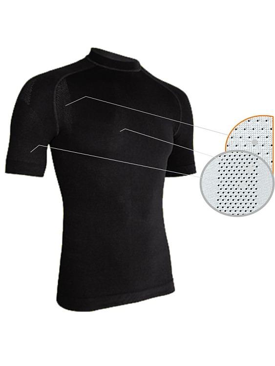 b26a370f6 Perforované pánske termo tričko s krátkym rukávom/E-pradlo.sk
